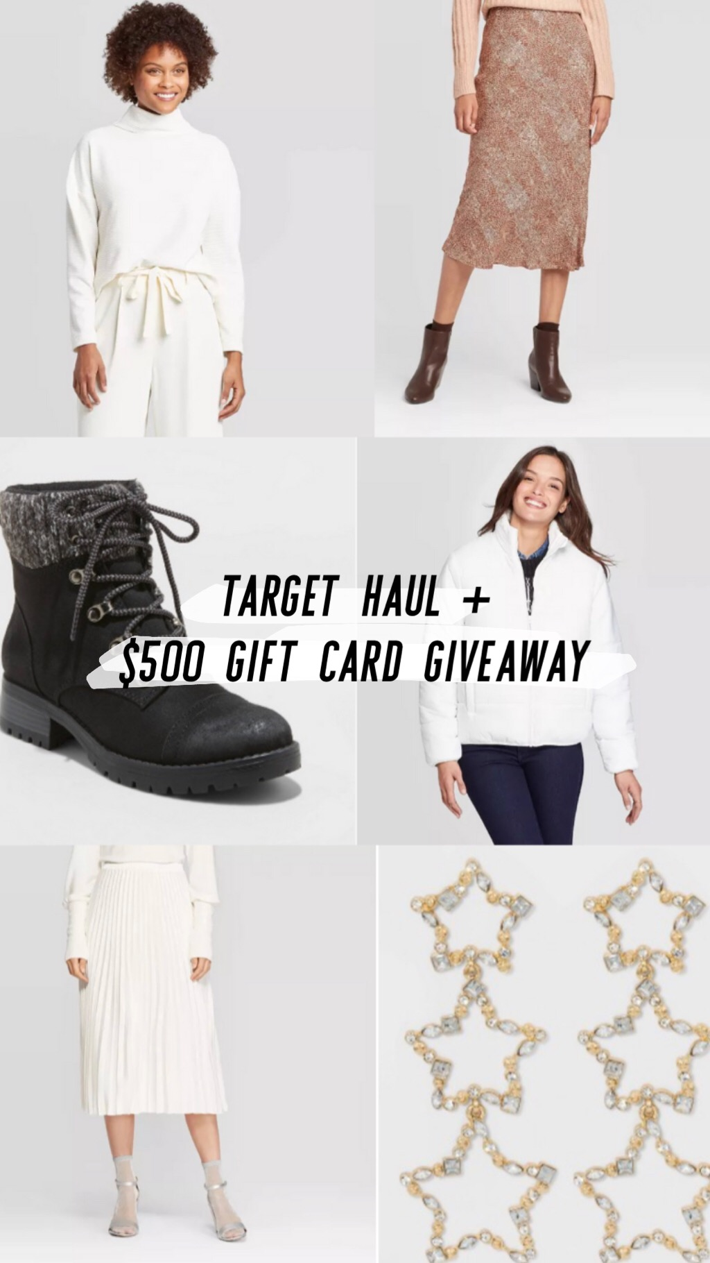 Target Haul + $500 Gift Card Giveaway!