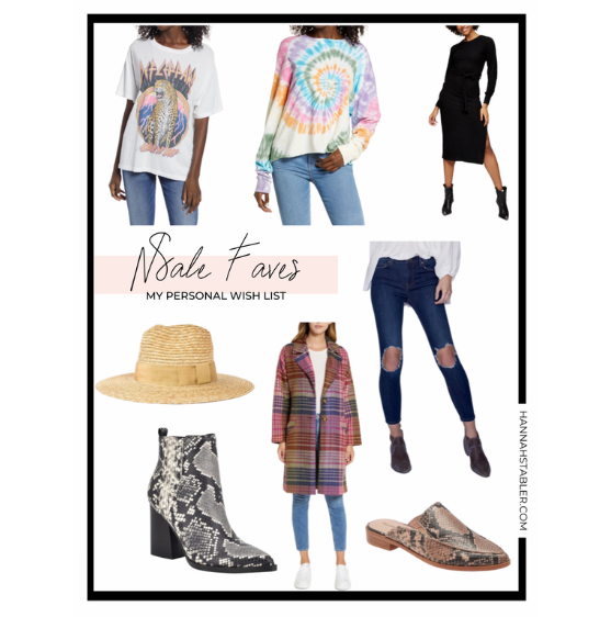 Nordstrom Anniversary Sale 2020 – My Personal Wish List
